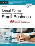 Legal Forms for Starting & Running a Small Business by Fred S. Steingold