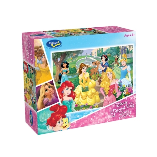 Holdson: Disney Princess - Forever Princess 50 Piece XL Puzzle image