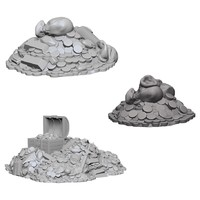 WizKids Deep Cuts: Unpainted Miniatures - Treasure Piles