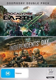 Doomsday Double (Apocalypse Earth & Independent's Day) on DVD