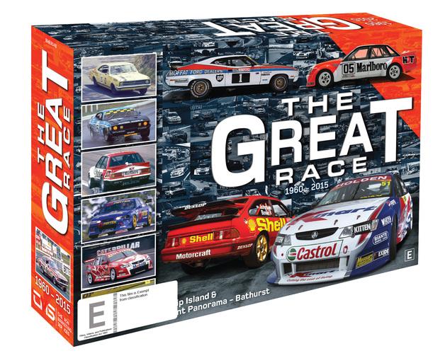 The Great Race 1960-2015 Collection on DVD