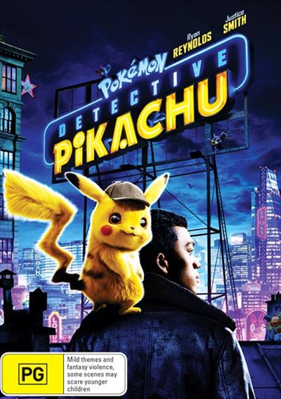 Detective Pikachu on DVD