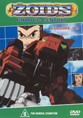Zoids (Chaotic Century) Vol  1.3 on DVD
