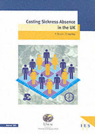 Costing Sickness Absence in the UK by Stephen Bevan image