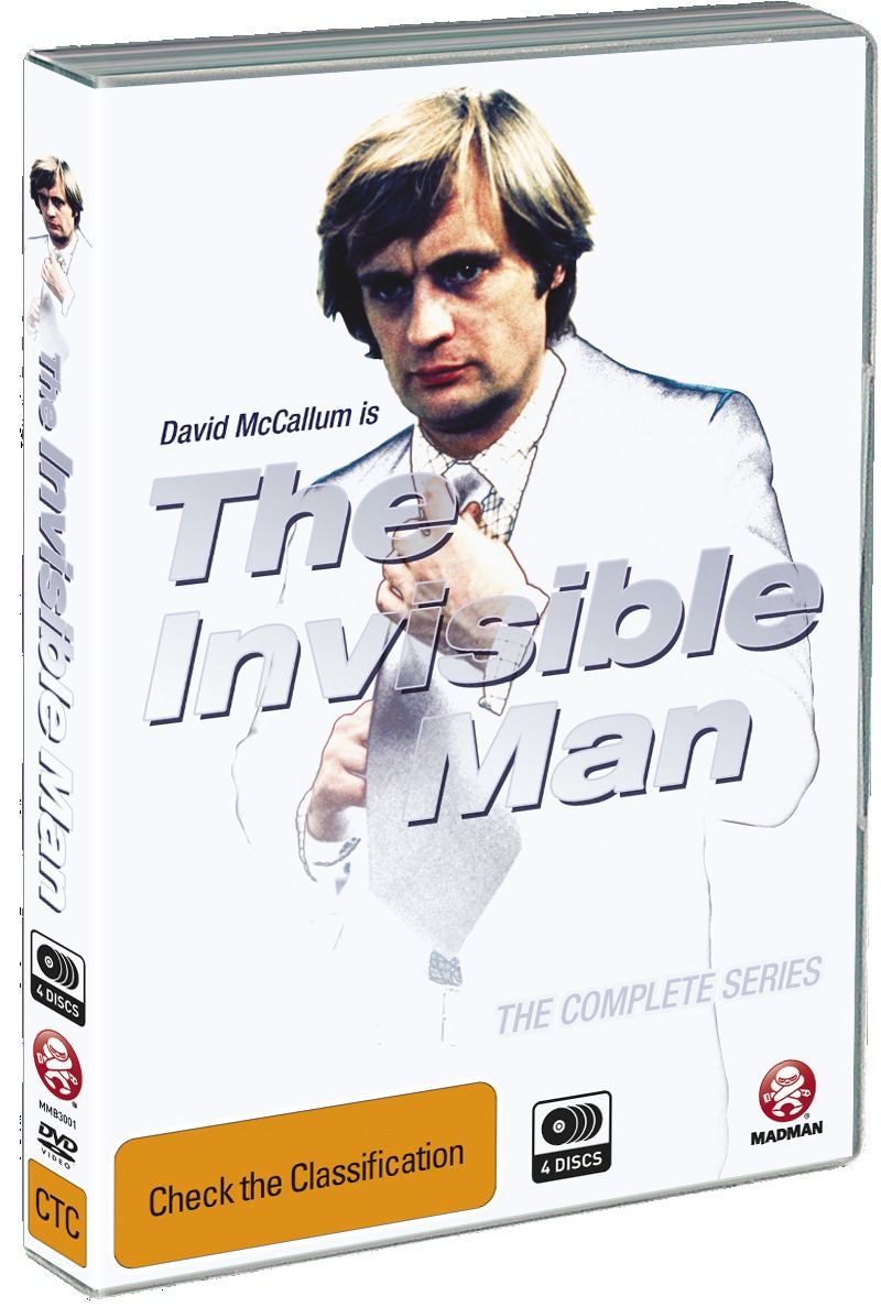 The Invisible Man - The Complete Series on DVD image