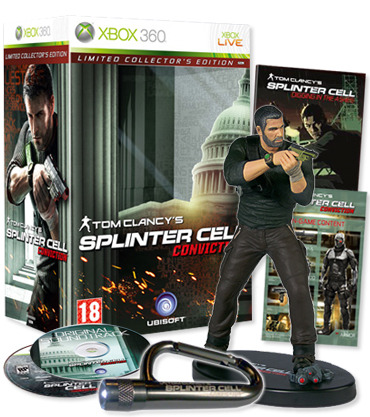 Tom Clancy's Splinter Cell: Conviction Limited Collector's Edition for Xbox 360