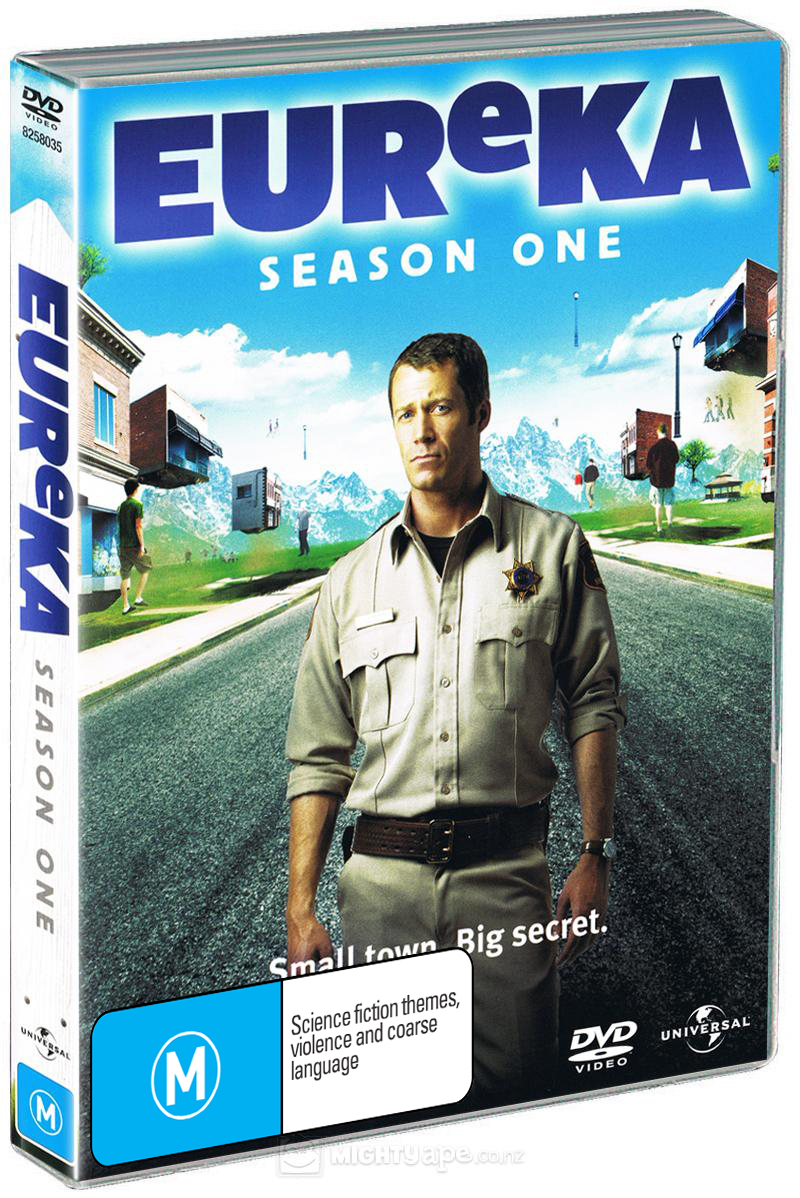 Eureka - Season 1 (3 Disc Set) on DVD image