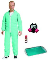 Breaking Bad Jesse Pinkman in Blue Hazmat Suit 6-Inch Action Figure - Previews Exclusive