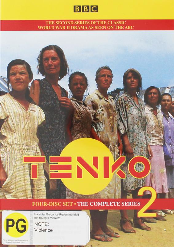 Tenko - Complete Series 2 (4 Disc Set) on DVD