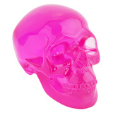 Skull Ornament Small - Pink