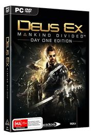 Deus Ex: Mankind Divided Day 1 Edition for PC Games