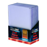 Ultra Pro: Toploaders - 3x4 Clear Regular image