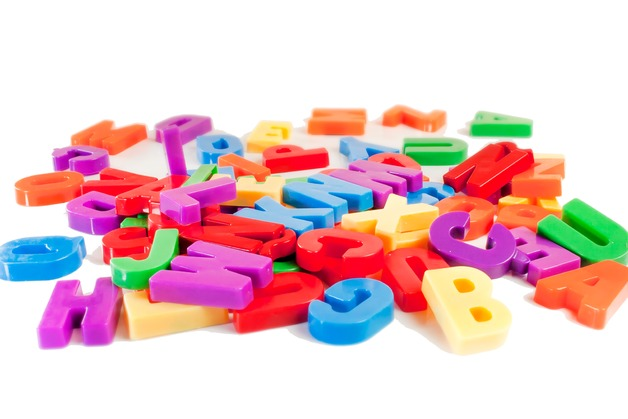 Miniland Magnetic Capital Letters (62 pcs)