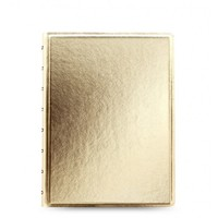 Filofax - A5 Saffiano Notebook - Gold