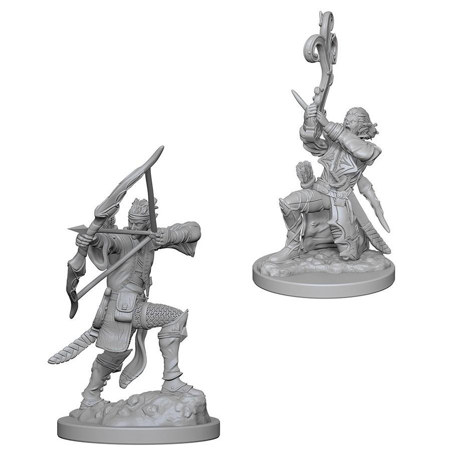 D&D Nolzurs Marvelous: Unpainted Miniatures - Elf Male Bard image