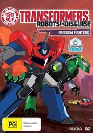 Transformers Robots in Disguise: Freedom Fighters on DVD
