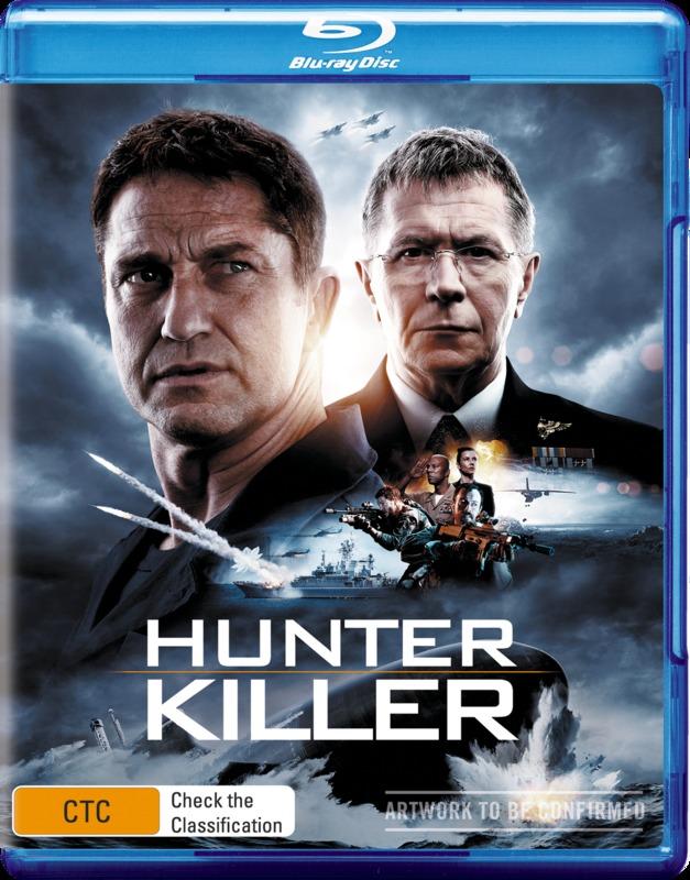 Hunter Killer on Blu-ray
