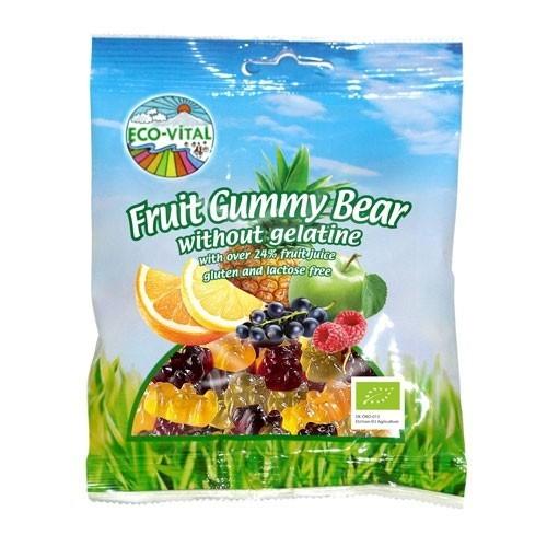 Eco-Vital Organic Gummy Bears 100g