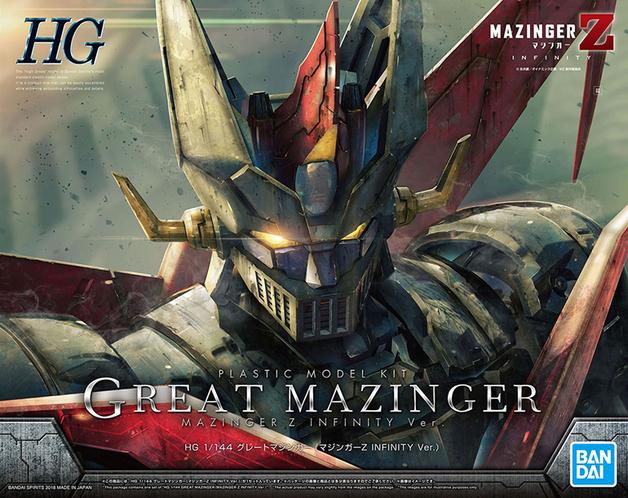 HG 1/144 Great Mazinger (Mazinger Z: Infinity Ver.) - Model Kit