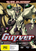 Guyver - The Bioboosted Armor: Vol. 7 - Armor Of The Gods on DVD