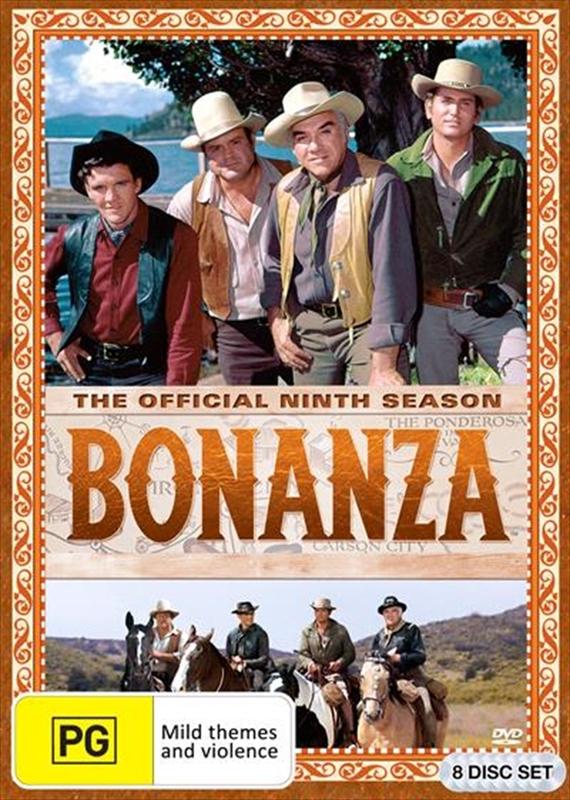 Bonanza - Season Nine on DVD