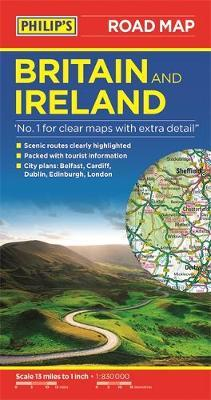 Philip's Britain and Ireland Road Map by Philip's Maps