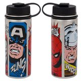 Marvel Comics - 18 oz. Vacuum Insulated Stainless Steel Water Bottle