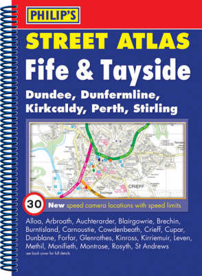 Philip's Street Atlas Fife and Tayside