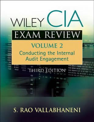 Wiley CIA Exam Review by Rao Vallabhaneni