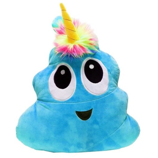 """Poonicorn: 16"""" Novelty Plush - (Blue)"""