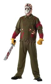 Friday the 13th: Jason Voorhees #2 - Deluxe Costume (XL)