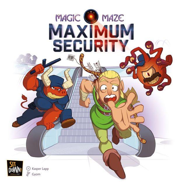 Magic Maze: Maximum Security - Expansion Set