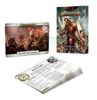 Warhammer Age of Sigmar: Warscroll Cards - Beasts Of Chaos