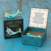 Natural Life: Lucky Charm - Narwhal