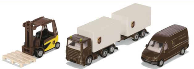 Siku: UPS Logistics - Diecast 3-Pack