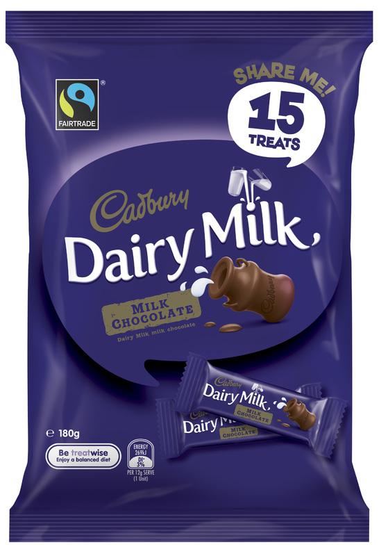 Cadbury Dairy Milk Milk Chocolate Sharepack (180g)