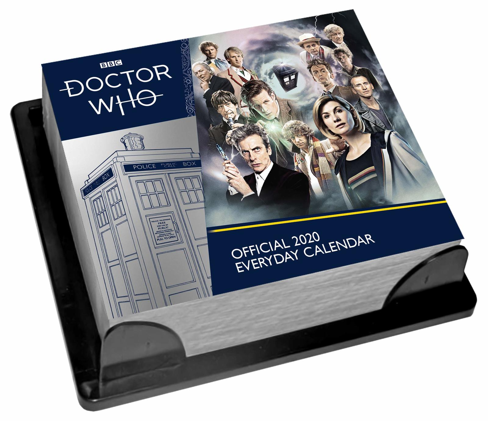 Official Doctor Who 2020 Boxed Calendar image