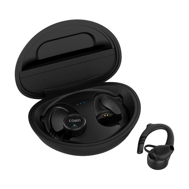 Cowin: Raptor KY09 True Wireless Earbuds - Bluetooth Sport Headphones (Black)
