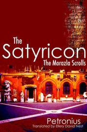 The Satyricon by Petronius Arbiter image