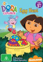 Dora The Explorer - Egg Hunt on DVD