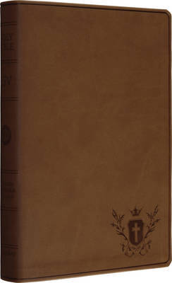 Personal Size Reference Bible-ESV-Crest Design
