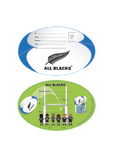All Blacks Party Invitations