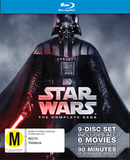 Star Wars - The Complete Saga on Blu-ray