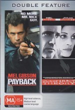 Payback / Conspiracy Theory - Double Feature (2 Disc Set) on DVD