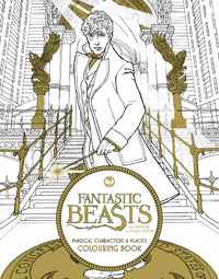 Fantastic Beasts and Where to Find Them: Magical Characters and Places Colouring Book by HarperCollins Publishers