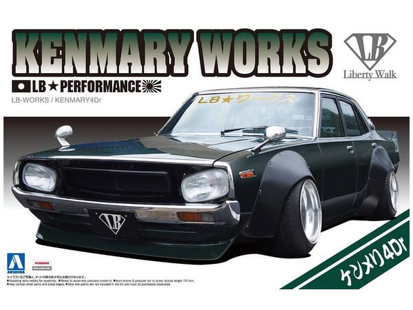 Aoshima: 1/24 LB Works Ken & Mary 4Door 2015 Ver. Model Kit