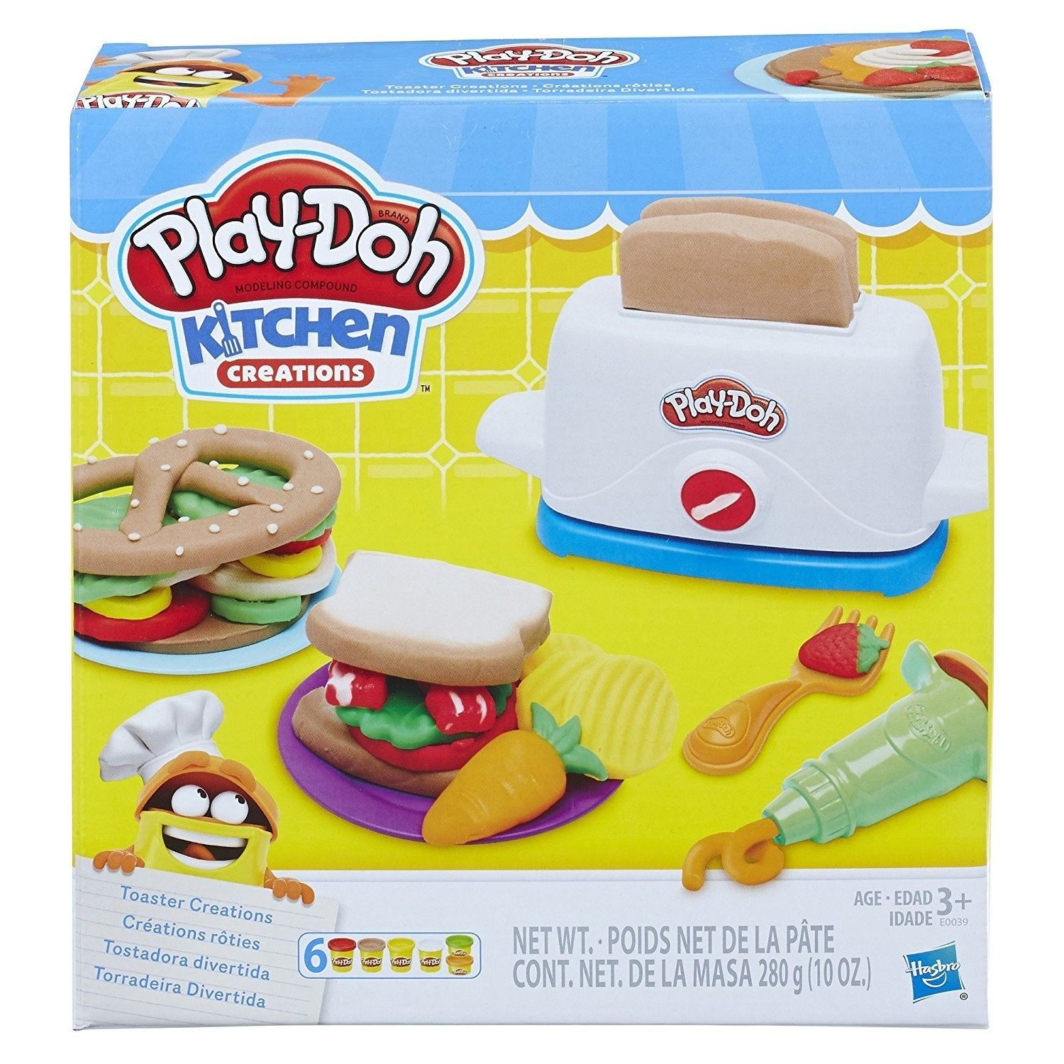 Play-Doh: Kitchen Creations - Toaster Creations image