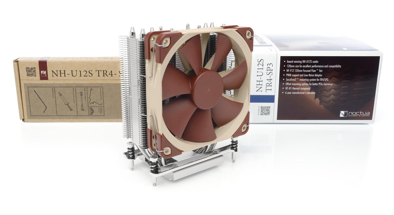 Noctua NH-U12S TR4-SP3 CPU Cooler Socket TR4 & SP3 for AMD Threadripper Processors image