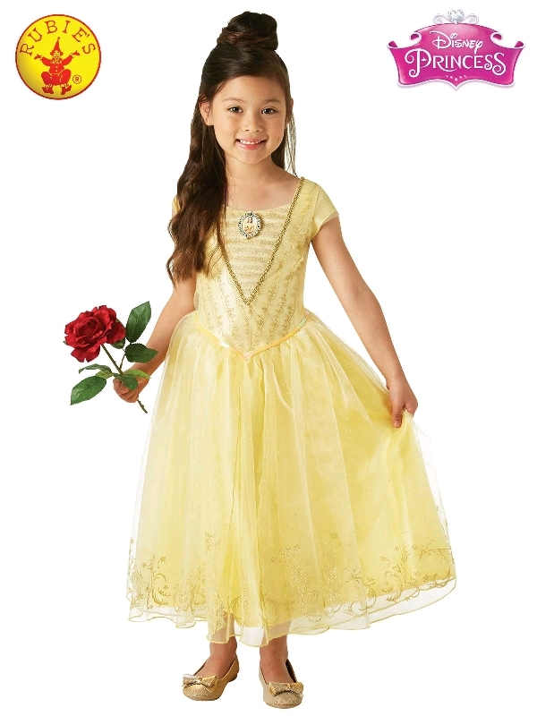 Belle Live Action Deluxe Child Costume - Size 3-5