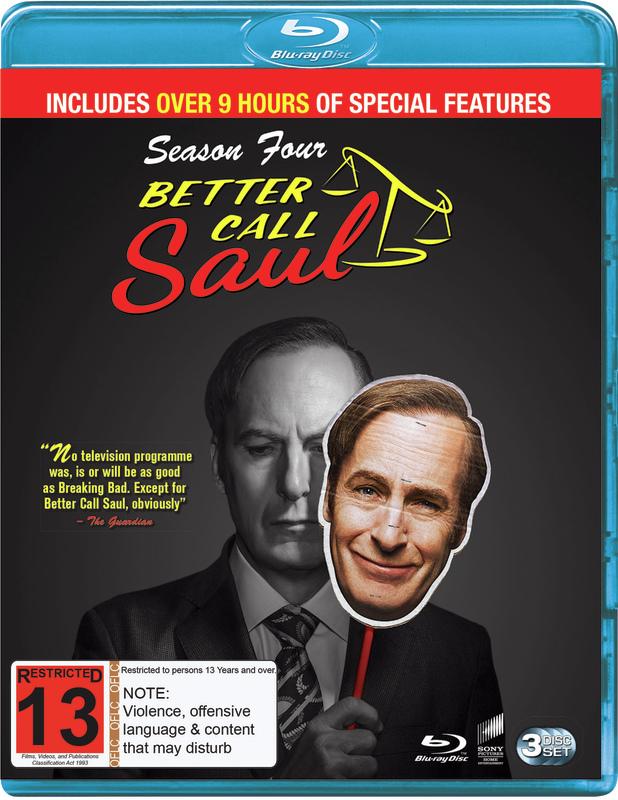 Better Call Saul: Season 4 on Blu-ray